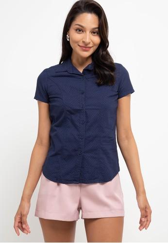 Exit navy Deonna Shirt 9CC53AAEE7FDDAGS_1