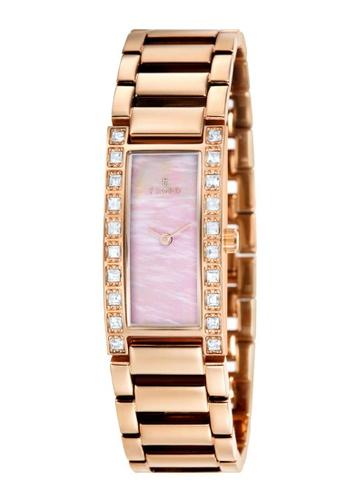 Fjord gold Fjord Women's Solid Bracelet Watch - FJ-6012-55 063C1AC49164F9GS_1