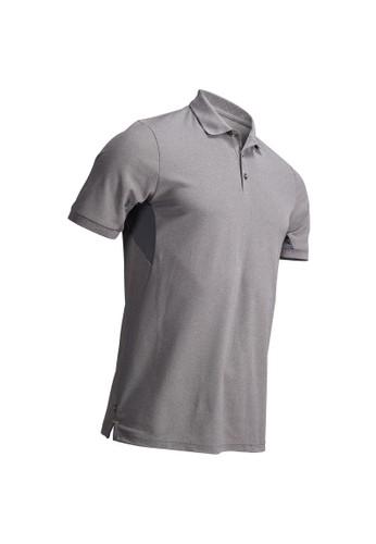 Decathlon Inesis Baju Golf Polo Shirt Polo Light Grey Heather - 8491163 BB9C5AAE6E8DFCGS_1