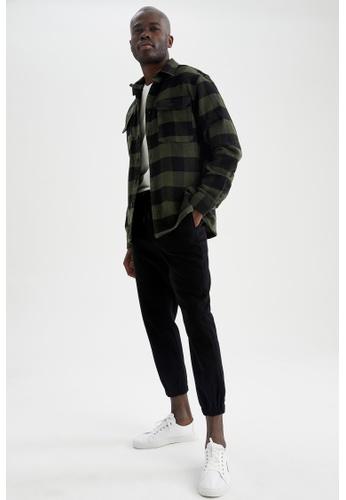 DeFacto black Regular Trousers 0A43CAA9F3A050GS_1