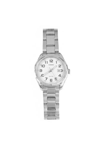 Casio silver CASIO GENERAL LTP-1302D-7BVDF SILVER STAINLESS STEEL WOMEN'S WATCH 57C04AC13BB023GS_1
