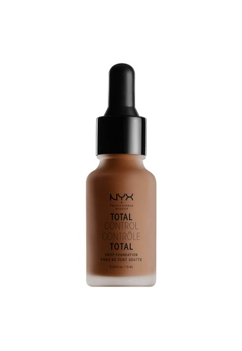 NYX Professional Makeup brown NYX Professional Makeup Total Control Drop Foundation - COCOA 31019BE5A87B5BGS_1