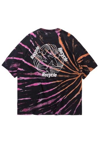Twenty Eight Shoes Trend Tie-Dyed Short T-shirt 1197S20 D13F7AAB2FCEBDGS_1