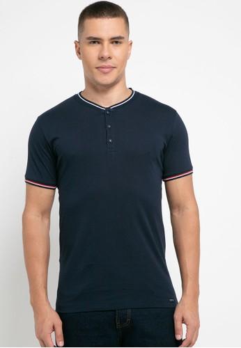 Cressida navy Basic T-Shirt 12257AA774E186GS_1