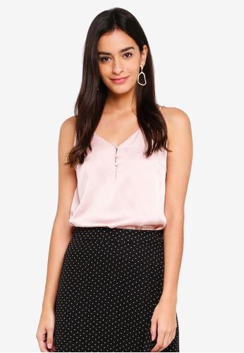 Pieces pink Surip Slip Top 18F26AA5700F89GS_1