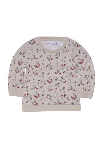 NAME IT beige Nikoline Long Sleeves Sweatshirt DD57DKA0528CF9GS_1