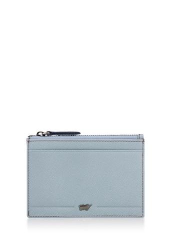 Braun Buffel blue Craig Coin Holder with External Card Slots 76FA6ACBEF8541GS_1