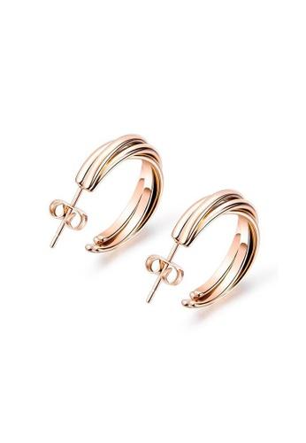 CELOVIS gold CELOVIS - Delia Twisted Hoop Earrings 68816ACC4A02FFGS_1