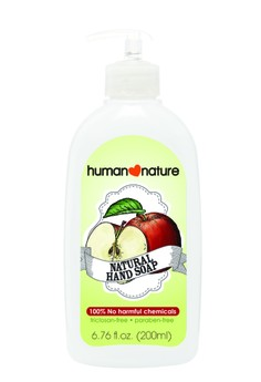 Natural Hand Soap In Refreshing Apple