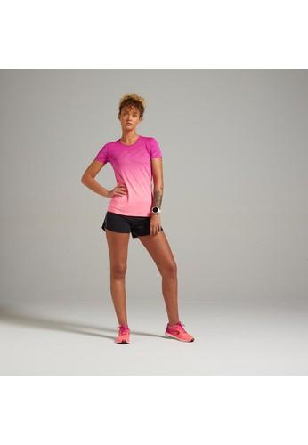 Decathlon Running Breathable T-Shirt Care - red - 8604364 325B8AA4BEB59BGS_1