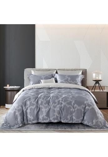 Epitex grey Cressent Dale 1600TC 100% Tencel CE2808 Bedset 9FC42HLBD77D71GS_1