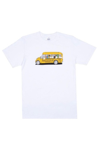 RipNDip white SCHOOL BUS TEE BB87FAA29947D3GS_1