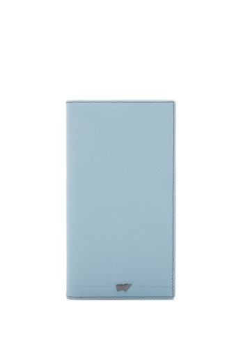 Braun Buffel blue Craig 2 Fold Long Wallet 8362FAC3FDDB28GS_1