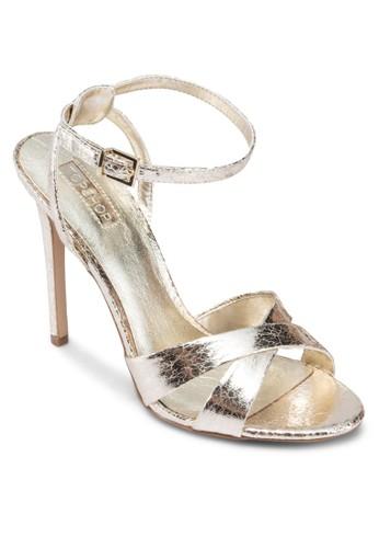 Rumour 交叉繞踝細跟高跟鞋topshop 香港, 女鞋, 鞋