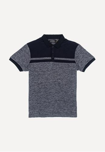 FOREST grey Forest Slim Fit Cut Knitted Polo T Shirt Men Knitwear - Baju Sweater Lelaki Knitwear - 23355 - 03DkGrey 9E08BAA3A148E4GS_1