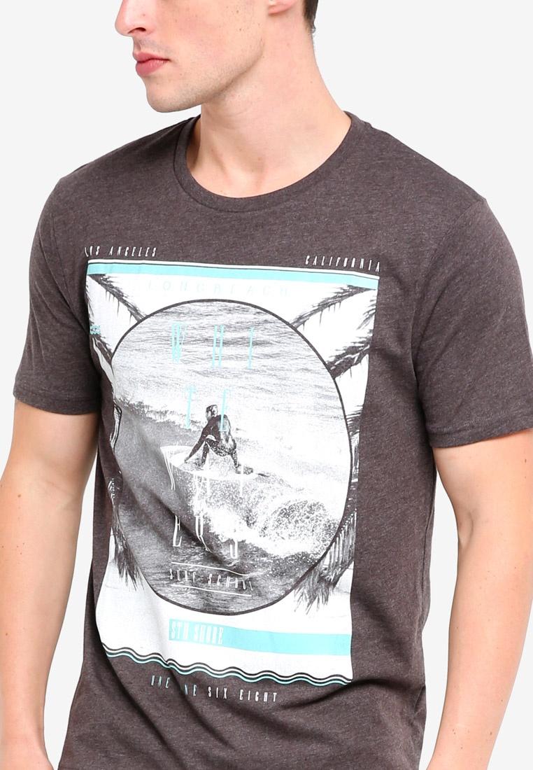 Shirt Surf London Charcoal Menswear California Charcoal T Burton zpnqUZt
