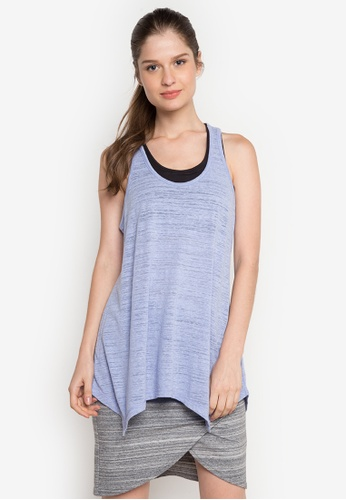Joe Fresh blue Active Racer Back Tank Top JO088AA0K1N1PH_1