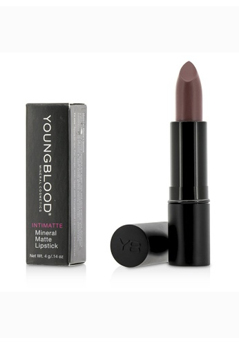 Youngblood YOUNGBLOOD - Intimatte Mineral Matte Lipstick - #Vain 4g/0.14oz 9120ABE6A57EFBGS_1