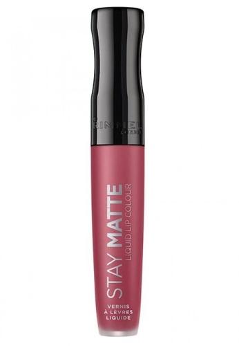 Rimmel pink Rimmel Stay Matte Liquid Lip Colour 5.5ml #210 Rose & Shine 004C1BE361323EGS_1