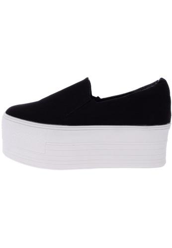 Maxstar C7 60 Synthetic Leather White Platform Slip on Sneakers US Women Size MA168SH85DLMHK_1