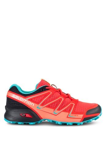 Salomon red Speedcross Vario Shoes SA438SH26WDDMY_1