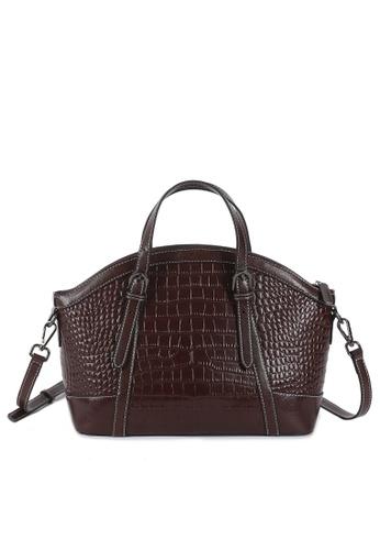 Twenty Eight Shoes Crocodile Texture Leather Crossbody Bags YLG55816 F5144AC92FA1CDGS_1