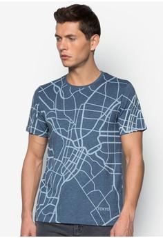 Tokyo City Map Tee