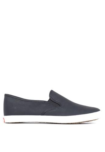 Italianos black Leon Slip On Sneakers IT153SH42SHDPH_1