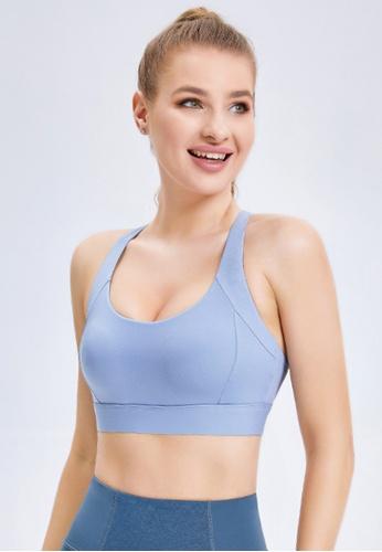 Trendyshop blue Quick-Drying Yoga Fitness Sports Bras CD7DDUSA039FC3GS_1