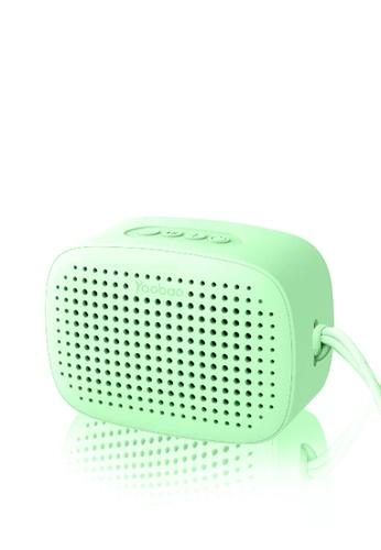 Latest Gadget green Yoobao M2 TWS Portable Smart Bluetooth Speaker – Green 8C0C0ESCF759C2GS_1