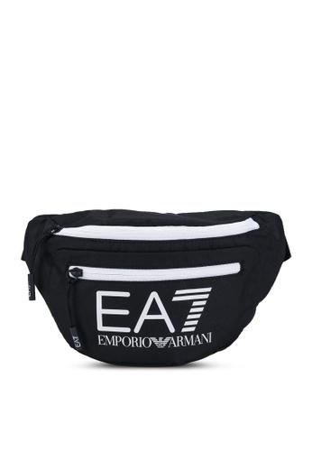 EA7 black Train Core Belt Bag 8B8A5ACB9C7167GS_1