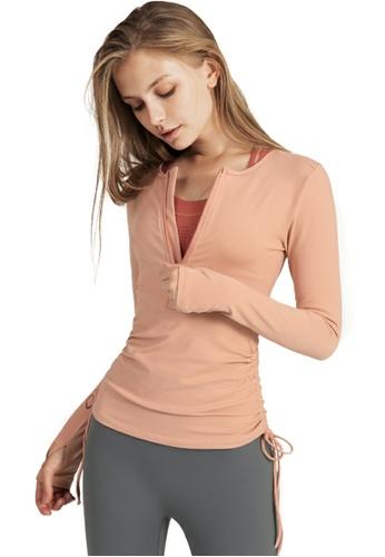 HAPPY FRIDAYS Women's Yoga Long Sleeve Tees CX190804 CFD16AA90CA589GS_1
