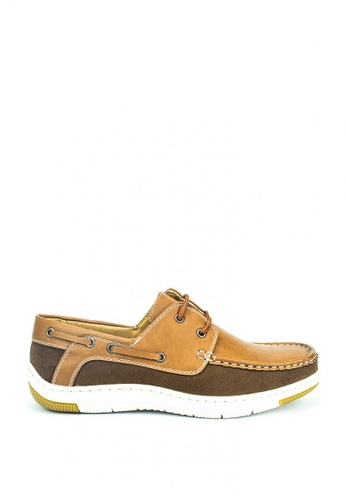 Cardam's Lifestyle brown Daniel Lifestyle Sneakers 85BEDSH0E66395GS_1