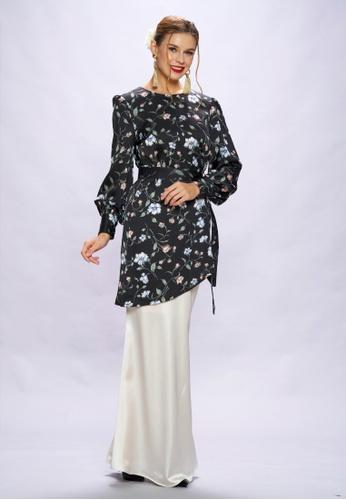 Loveaisyah multi Modern Floral Baju Kurung 11864AA11265D2GS_1