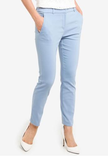 Forever New blue Grace 7/8th Slim Pants 952E0AAB08D7D6GS_1