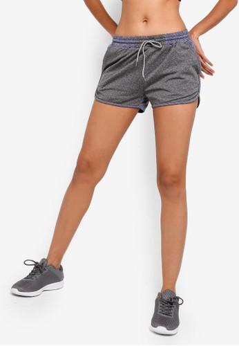 UniqTee blue Quick Dry Stretchable Shorts 022A3AABCA0FB1GS_1