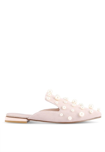 House of Avenues pink Pointy Slippers HO685SH0RRBQMY_1