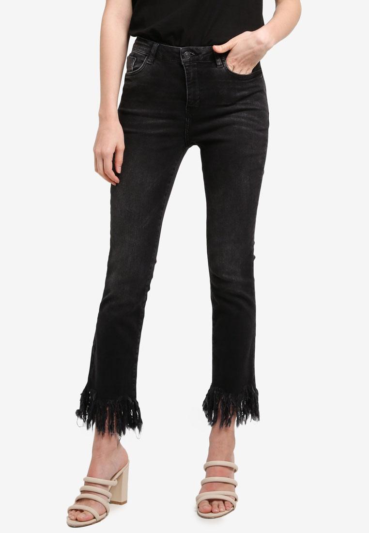Open Jeans Grey Edges Mango Frayed qBRw4WT