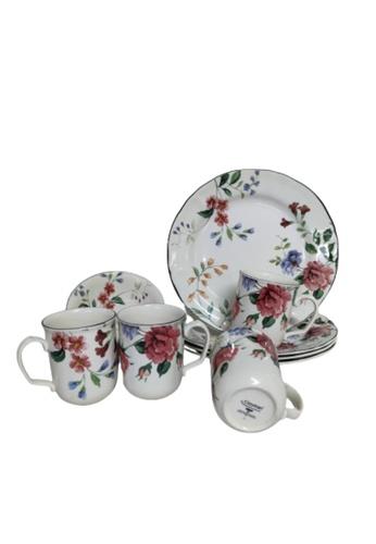 Claytan 1904 Priscilla w Banding- 16 PCS Dinner Set- (1st grade) A78BCHLE4F2D9DGS_1