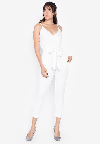 D Fashion Engineer white Jovel Jumpsuit 0E929AA34F9026GS_1