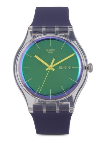 Swatch purple Polapurple Watch 094E5AC9780642GS_1