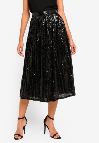 TFNC black Boho Skirt FF801AA112C1ABGS_1