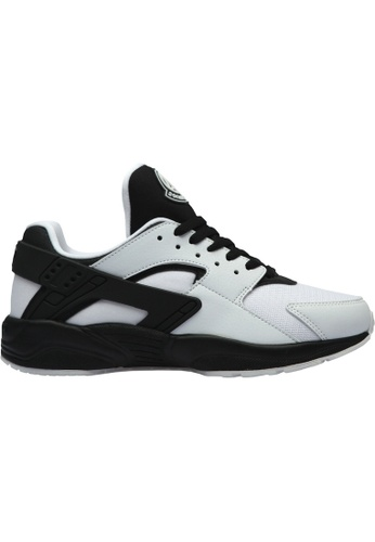 paperplanes black and white Paperplanes-1358 Fashion Casual Leather Low Top Sneakers Shoes US Women Size PA355SH34PLHSG_1