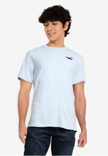 Hollister blue Exploded Icon T-Shirt C65FCAA7DE4E00GS_1