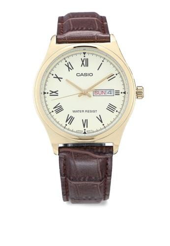 Casio brown Casio MTP-V006GL-9BUDF Watch 31B01AC706050EGS_1