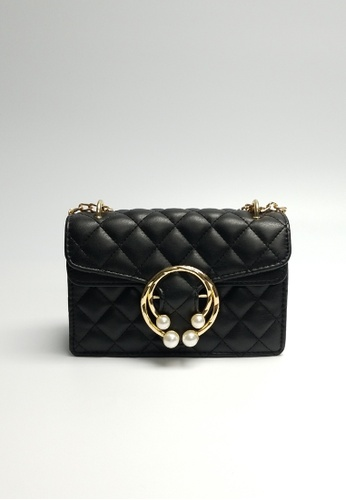 Lara black Women's Elegant Crossbody Bag 74E11AC19C8C7EGS_1