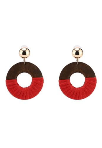 ALDO 紅色 Iboedda 耳環 41D1EAC860B56BGS_1