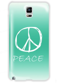 Peace Sign Hard Case for Samsung Galaxy Note 4