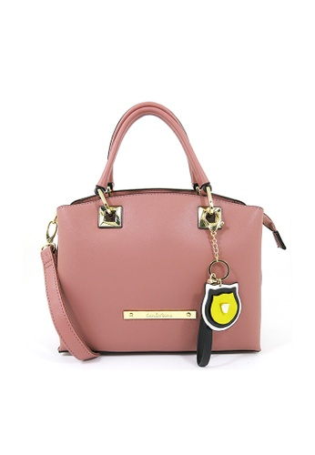 Carlo Rino pink Carlo Rino 0304091-001-54 Top-handle bag (Pink) 37986AC0263E81GS_1