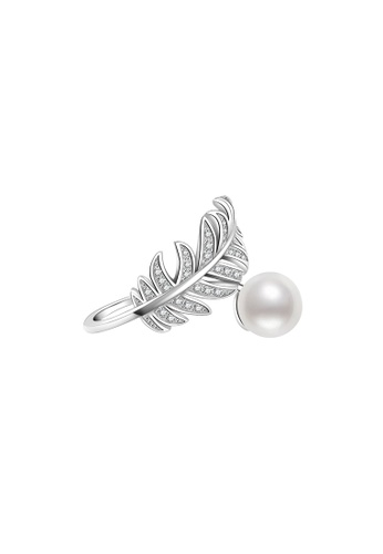 Pearly Lustre silver Pearly Lustre Elegant Freshwater Pearl Ring WR00014 F518EACB738951GS_1